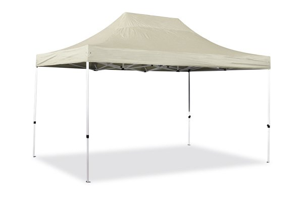Hybrid Plus 3m x 4.5m Pop Up Steel/Aluminium Gazebo - Sand