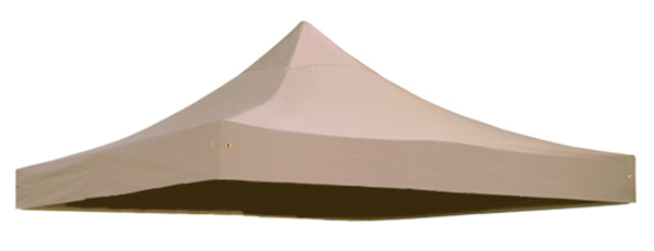 Replacement Roof Canopy for 3m x 3m Gazebos - 300D Beige