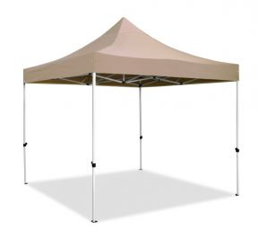 Standard Plus 3m x 3m Pop Up Steel Gazebo - Beige