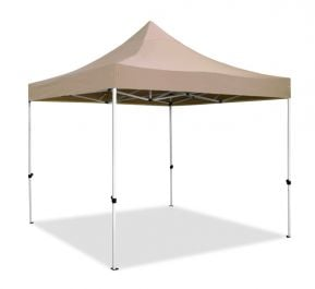 Hybrid Plus 3m x 3m Pop Up Steel/Aluminium Gazebo - Beige