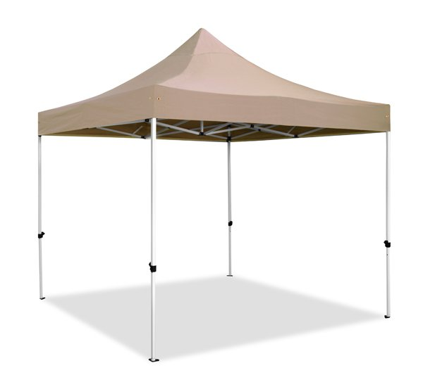 Hybrid 3m x 3m Pop Up Steel/Aluminium Gazebo - Beige