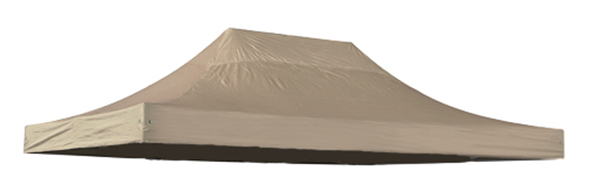 Replacement Roof Canopy for 3m x 4.5m Gazebos - 300D Beige
