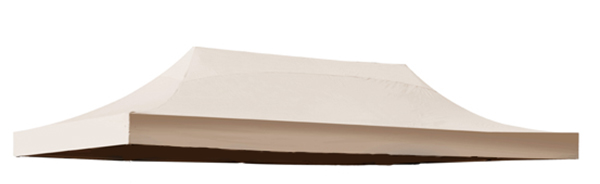 Replacement Roof Canopy for 3m x 6m Gazebos - 500D Beige