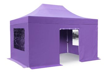 Side Walls and Door Only for 3m x 4.5m Gazebos - Lilac