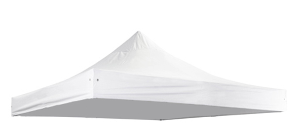 Replacement Roof Canopy for 3m x 3m Gazebos - 500D White