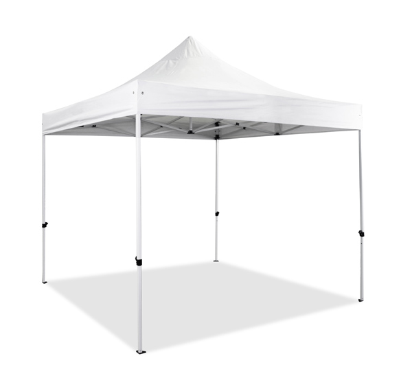 Hybrid 3m x 3m Pop Up Steel/Aluminium Gazebo - White