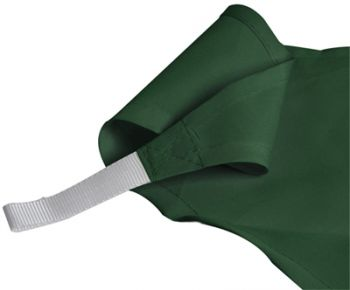 Kookaburra 3.6m Triangle Green Party Sail Shade (Woven - Water Resistant)