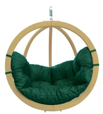 Globo Chair Green Weatherproof