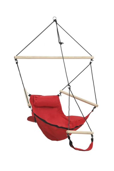 Swinger Red Hanging Chair