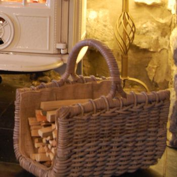 Kindling Carrier Basket