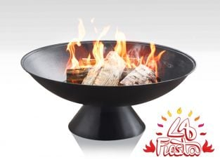 56cm Colachi Cast Iron Fire Bowl - La Fiesta