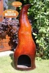 Flama Mexican Art Clay Chiminea - H1.2m by Gardeco�