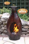 Botella Mexican Art Clay Chimenea - Medium - H73cm by Gardeco�