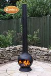 Kaska Cast Iron Steel Chiminea - H2m by Gardeco™