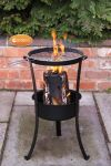 Steel Swedish Log Burner - H58cm by Gardeco™
