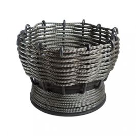 54cm The Furness Woven Steel Firepit