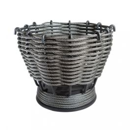 51cm The Forge Woven Steel Firepit