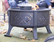 Moresque Steel Firepit with Grill - Dia76cm by La Hacienda™