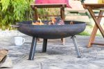 60cm Small Pittsburgh Steel Firepit - by La Hacienda™