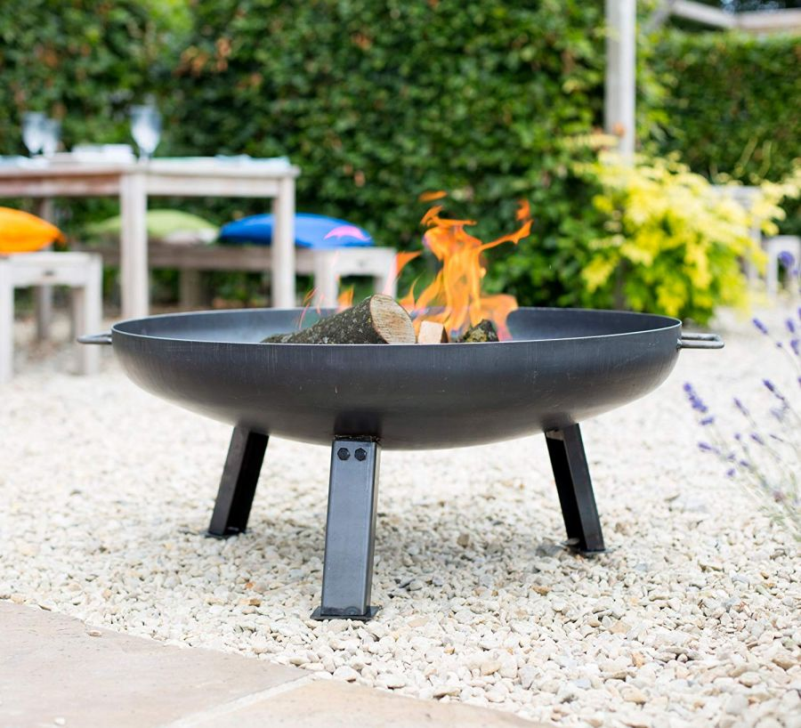 80cm Medium Pittsburgh Steel Firepit - by La Hacienda™