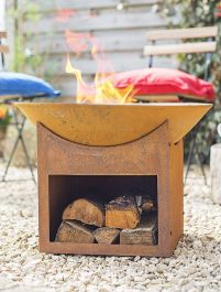 56cm Fasa Cast Iron Firepit - by La Hacienda™