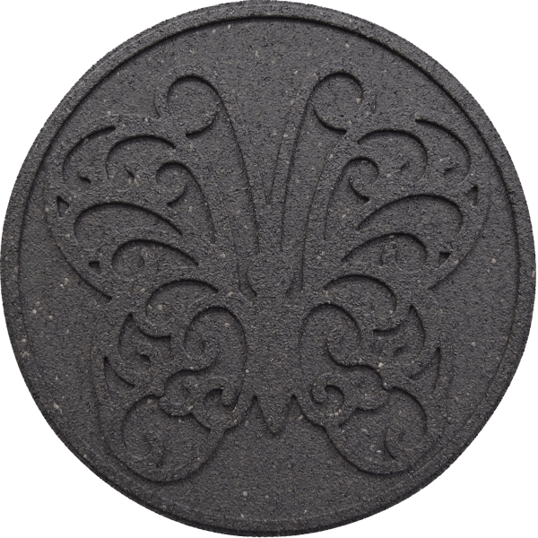 "18"" (46cm) Reversible EcoTrend Stepping Stone Butterfly design in Grey"