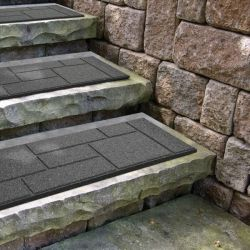 EcoTrend Stair Tread Cobblestone in Grey - 91cm