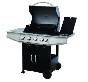H1.14m (3ft 9in) Calgary 4 Burner Barbecue Gas BBQ by Rowlinson®