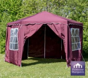 4m x 4m Budget Party Purple Gazebo with Side Walls
