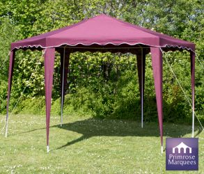 4m x 4m Budget Party Purple Gazebo