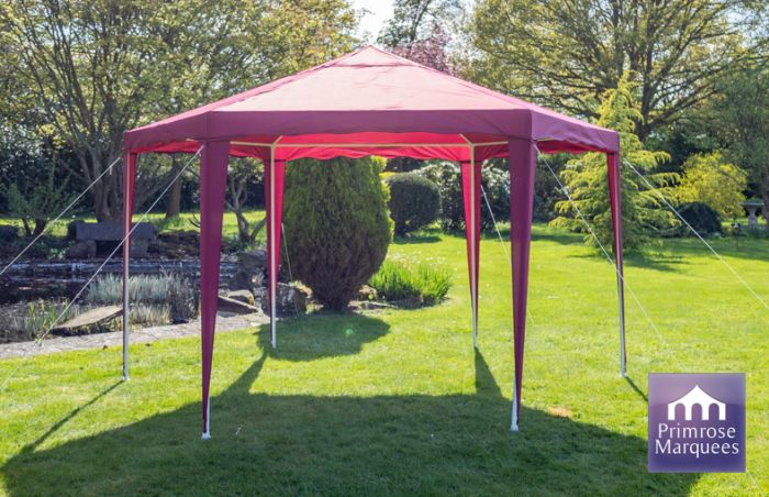 3.92m Budget Party Tent Purple Gazebo