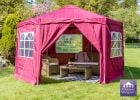 3.92m Side Walls for Budget Party Tent Purple Gazebo