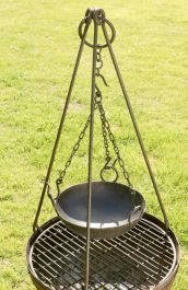 Tripod & Kadai Cooking Bowl Set
