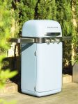 2 Burner Stainless Steel Barbecue in Sky Blue by Memphis™