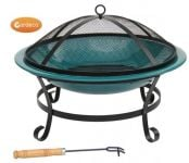 Green Enamel Orielo Fire Bowl