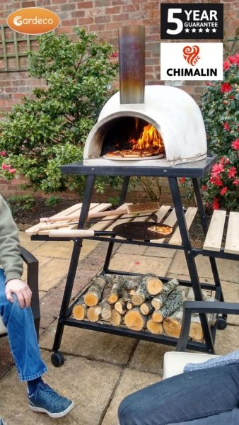 Pizzaro Traditional Outdoor Pizza Oven With Stand 1 5m 163