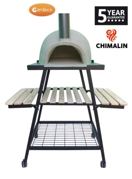 Pizzaro Traditional Outdoor Pizza Oven with Stand - 1.5m