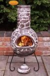 Cantera - Mexican Chiminea in Brown