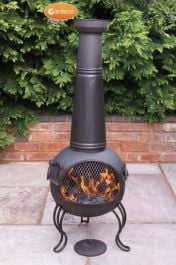 Kobie - Large Steel Chiminea by Gardeco™