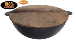 Cast Iron Cauldron D43cm by Gardeco™