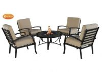 Violetta - Fire Bowl and 4-Chair set