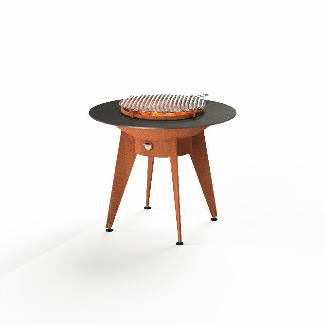 Corten Steel BBQ & Grill by Adezz - 82.5cm (2ft 8in)