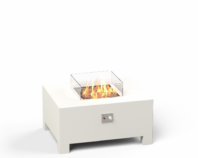 Aluminium Gas Fire Table  - 1m (3ft 3in)