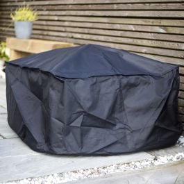 80cm Square Premium Firepit Cover by La Hacienda™