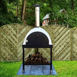 Outdoor Royal Portable Wood Fired Pizza Oven - 1.8m