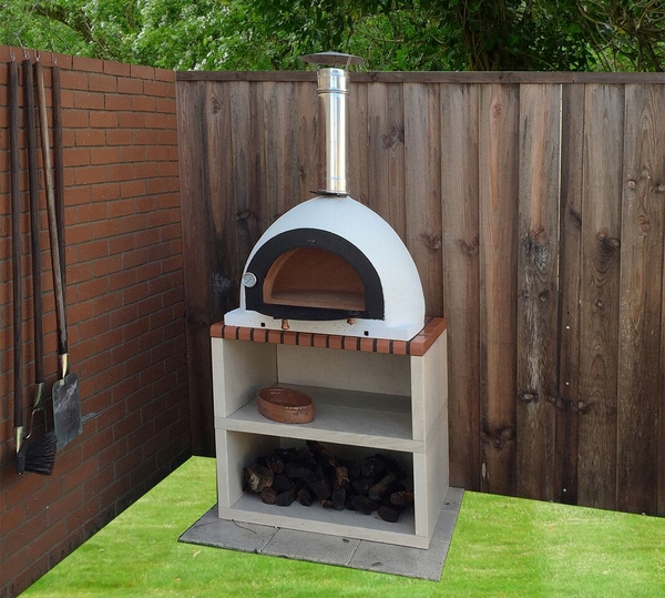 Outdoor Royal Wood Fired Pizza Oven with Stand - 1.9m