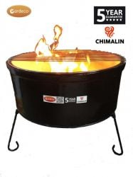 75cm Atlas Firebowl in Black by Gardeco™