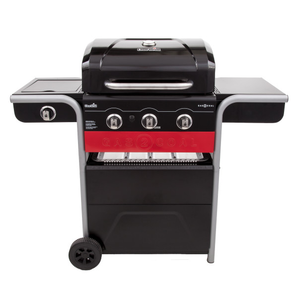 Gas2Coal® Hybrid Grill Gas & Coal Barbecue - by Char-Broil