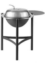 Dancook 1900 Large Kettle Barbecue Grill & Stand with Side-Shelf - by Char-Broil