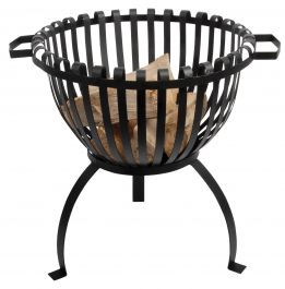 55 cm (1ft 9 in) Cast Iron Barbeque With Grill